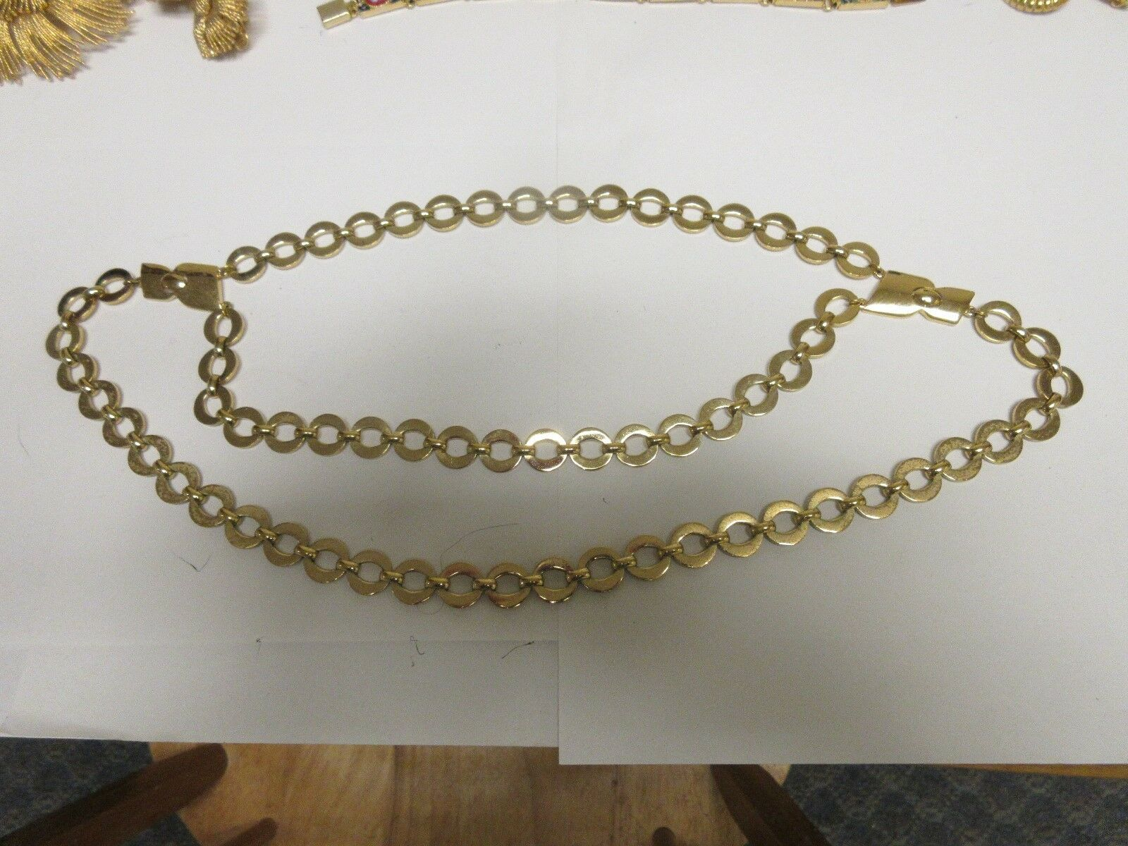 """Costume Jewelry , Vintage , Double Strand Necklace ,12"""""""