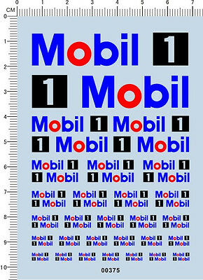 1//18 1//12 1//24 1//20 1//43 1//10 1//72 1//144 Scale Red Model Kit Water Slide Decal