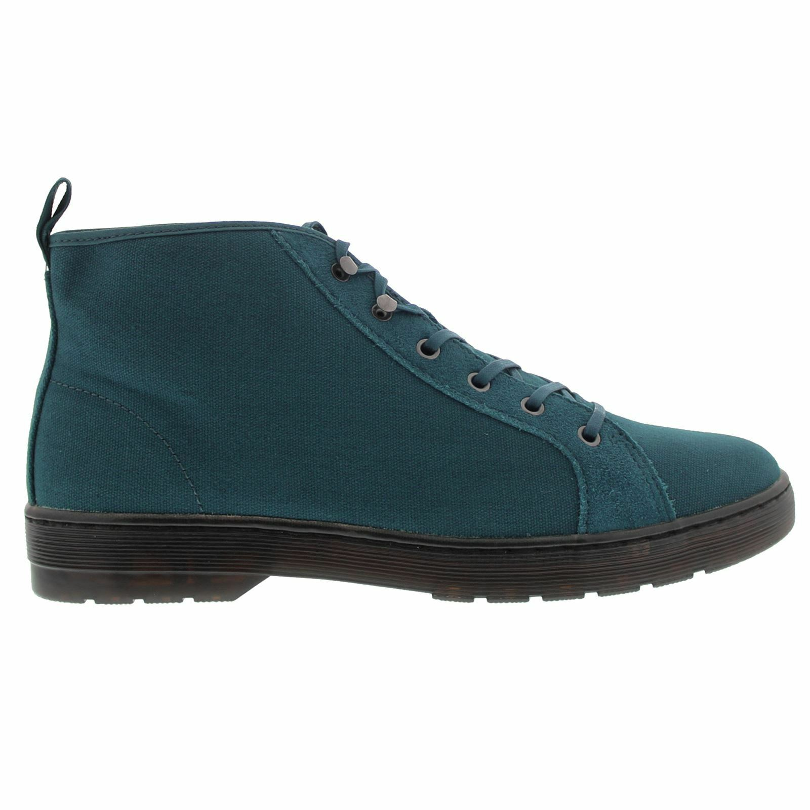 Dr.Martens Coburg 6 Eyelet Waxy Blue Mens Boots