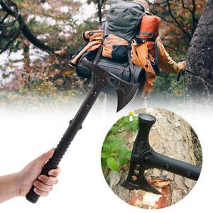 Axe-Hatchet-Camping-Survival-Tool-Beil-Hammer-Axt-Tactical-Tomahawk-Holzhammer
