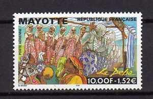12570-Mayotte-1999-MNH-Deba-Religious-Festival