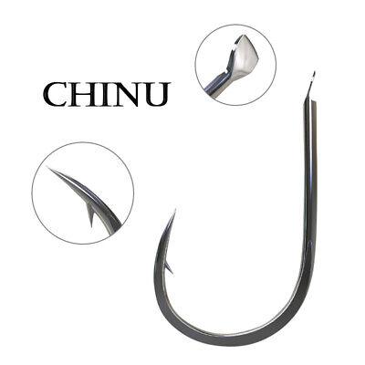 High Carbon Steel Bait Holder Fishhooks Lot 100 Fishing Stable Jig Hook V4L3