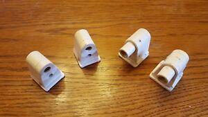 Leviton 2536//2537 Single Pin Fluorescent Lampholder Socket 2 Pair Both Ends