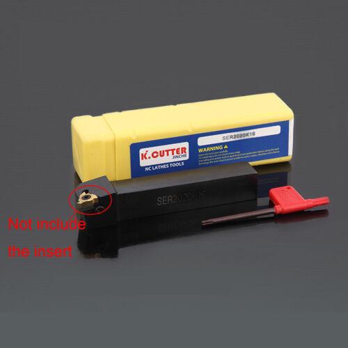 SER 2525M16 25x150mm Lathe Turning Tool Holder For 16ER insert