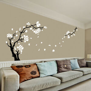 Magnolia Flower Tree Wall Art Stickers Wall Decals Ebay