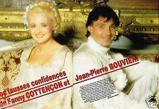 Coupure de Presse Clipping 1984 (2 pages) Fanny Cottencon et Jean Pierre Bouvier
