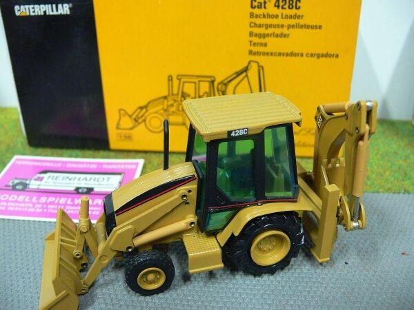 1/50 NZG Caterpillar CAT 428c Escavatore caricatrici 435