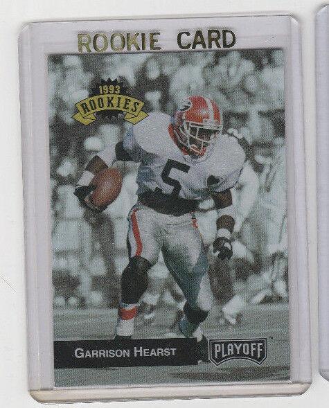1993 TekCrome Playoff # 303 Garrison Hearst Rookie Card