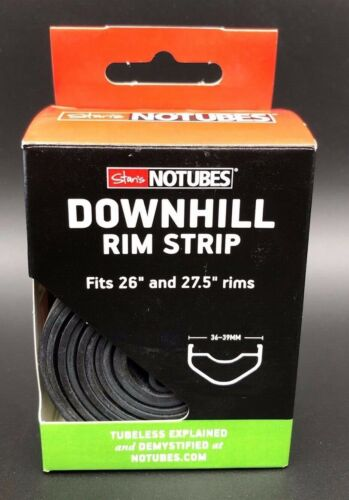 "36-39MM Wide New Stan/'s No Tubes Downhill Rim Strip Fits 26/"" and 27.5/"""