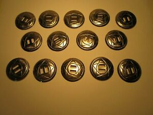 Large-Lot-of-14-MATCHED-CONCHOS-Western-Star-Style-5Sh