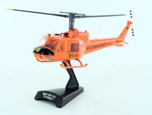 Lemkecollection h0 51100 elicotteri Bell uh-1c ARANCIO PROTEZIONE CIVILE 1:87