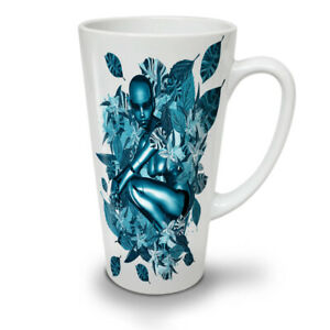 Blue Robot Nature NEW White Tea Coffee Latte Mug 12 17 oz   Wellcoda