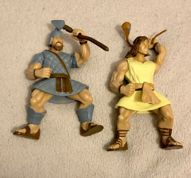2005 Mighty Large David And & Goliath Champion Of Gath ... |David And Goliath Action Figures