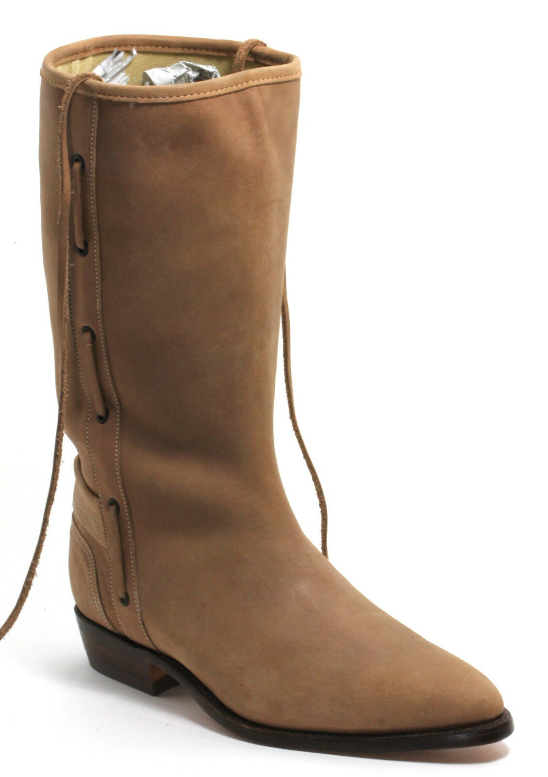 119 botas de vaquero Western botas botas de Texas Western cuero Oldstyle el canelo 45