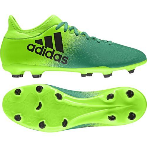 adidas X 16.3 FG Sohle Herren Fußballschuh BB5855 grün-schwarz-hellgrün