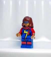 A864 Lego CUSTOM PRINTED Avengers Superhero game MS MARVEL KAMALA KHAN MINIFIG