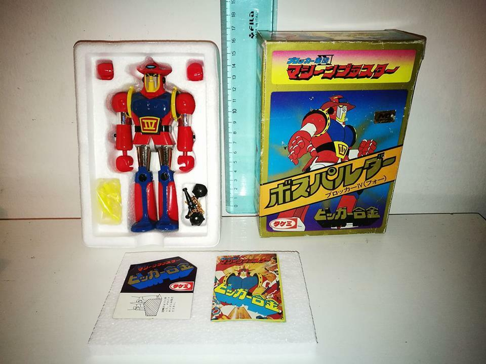 Takemi Boss Palder st astrorobot Made In Japan Robot Vintage Toy