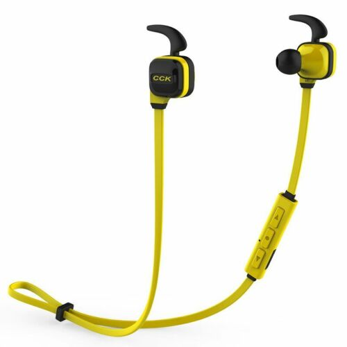 1 of 1 - CCK KS Stereo Bluetooth Wireless Earbuds BT4.1 Sports Earphone with Microphone