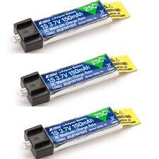 E-Flite 1s 3.7V 150mAh 25C Lipo Battery Pack (3) : Blade Nano QX / NQX