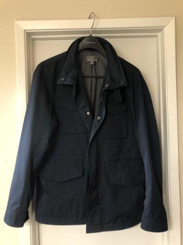 Men's Vince Field Jacket Size Medium Navy Blue