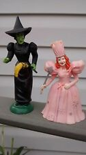 The Wizard Of Oz WICKED WITCH And GLINDA 1988 Turner Loew's MGM Figure  Lot of 2
