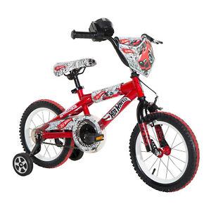 Dynacraft Children's Hot Wheels Themed Beginner BMX/Dirt Bike, 14-Inch(Open Box)