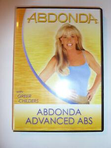 abdonda advanced abs dvd workout fitness abdominal muscles