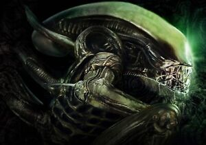 ALIEN-Movie-PHOTO-Print-POSTER-Film-1979-Ridley-Scott-Textless-Glossy-Sci-Fi-004