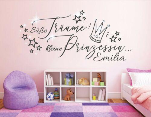 Wall Decal Girls Name Wall Tattoo Princess Childrens Girls pkm478 Name