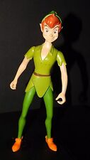 "Disney Peter Pan Action Figure Toy Jointed Larger Size 9"" Boy Doll Rare"