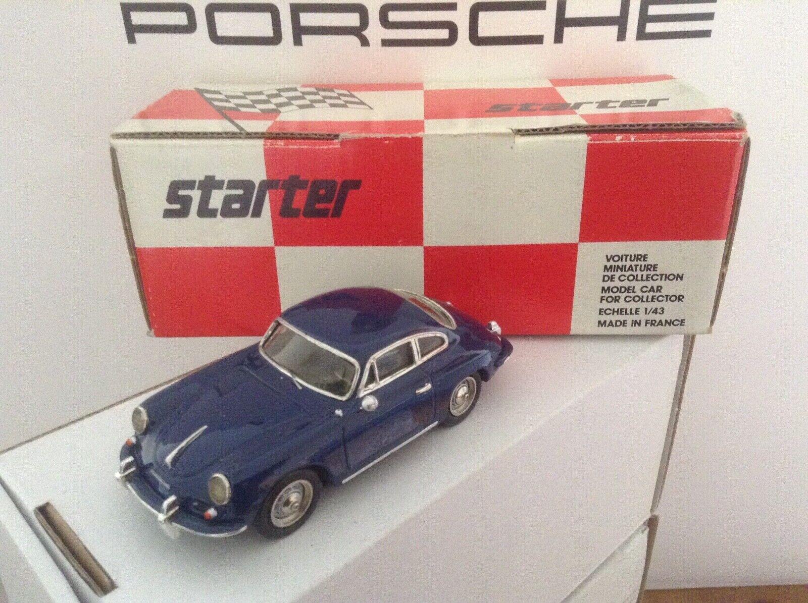 PORSCHE 356 B Hand made resin model by STARTER