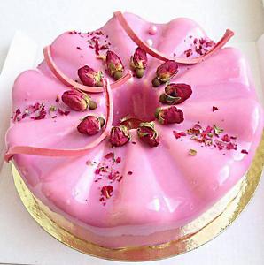 3D Silicone Round Wavy Cake Pan For Chiffon Boston Cream Pie Savarin Decoration