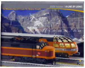 2008 LIONEL K LINE TRAINS VOLUME 1 CONSUMER CATALOG MINT