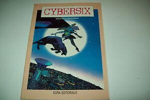 CYBERSIX-N-2-EURA-EDITORIALE-SUPPLEMENTO-DI-LANCIOSTORY-1-1993-DICEMBRE-1992-ok