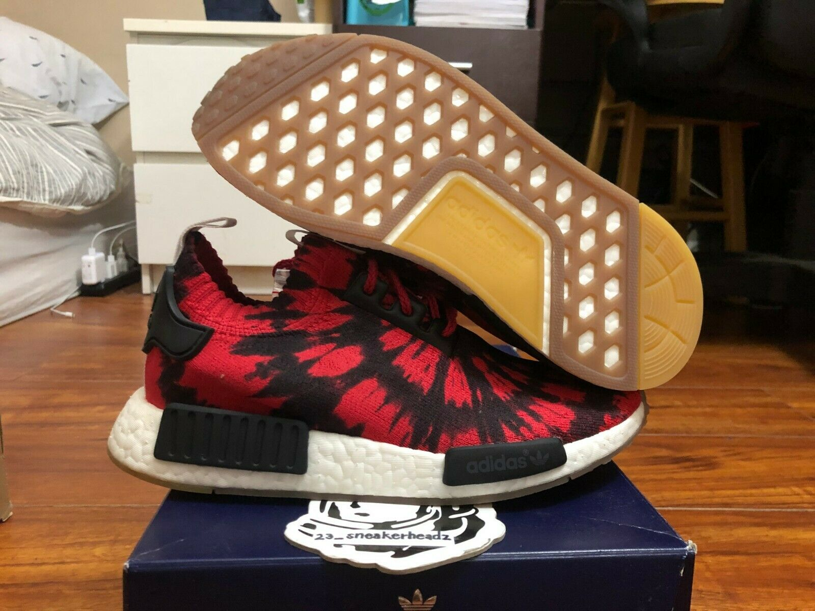Adidas Adidas Adidas NMD R1 PK  Nice Kicks  AQ4791 Size 6.5 DS 100% authentic 4be71d