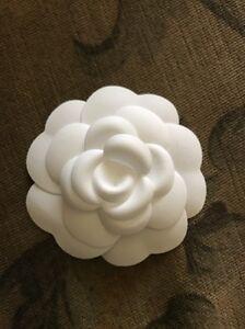 New white chanel camellia flower ebay image is loading new white chanel camellia flower mightylinksfo