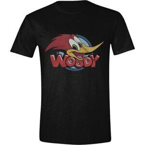 Woody Woodpecker Banner Official Merchandise T-Shirt M/L/XL - Neu