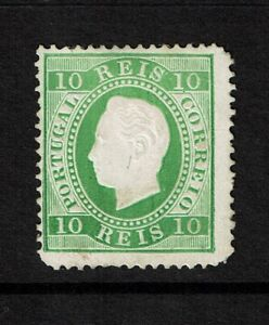 Portugal-SC-37c-Mint-Hinged-lg-pg-remnant-small-top-tear-see-notes-S7774