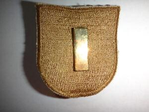 Eeuu-Ejercito-2nd-Teniente-Insignia-Metalica-en-1st-Caballeria-Division-HQ-Boina