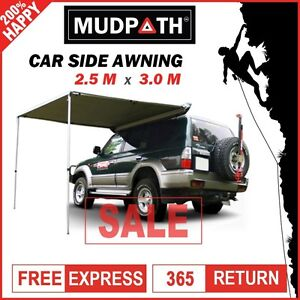 Image Is Loading OzEagle Car Side Awning Roof Top Tent 2