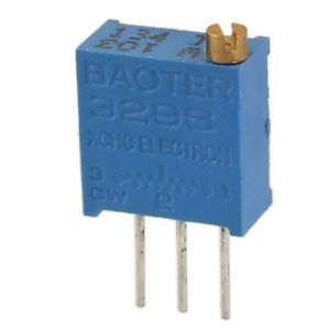 50-Pcs-103-10K-ohm-3296W-Trim-Pot-Trimmer-Potentiometer-25-Turn