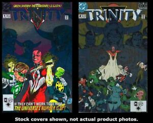 DC-Universe-Trinity-1-2-DC-1993-Complete-Set-Run-Lot-1-2-VF-NM