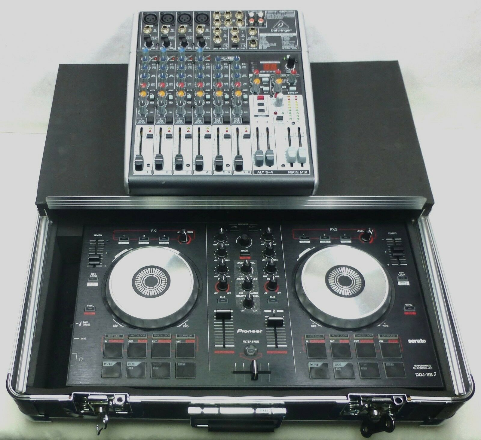 LASE Euro Style Case For Pioneer DDJ-SB2   SB Controller Case with GLIDE