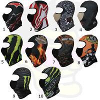 Graphic Biker Ski Mask Winter Full Face Monster Alpinestars Balaclava +