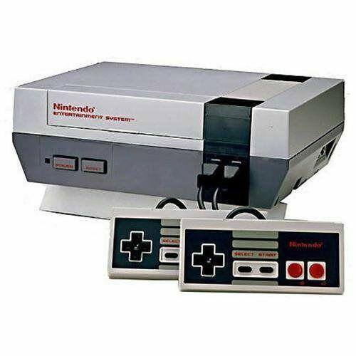 Mini Nintendo Entertainment System Action Set Console - Gray - $44.00