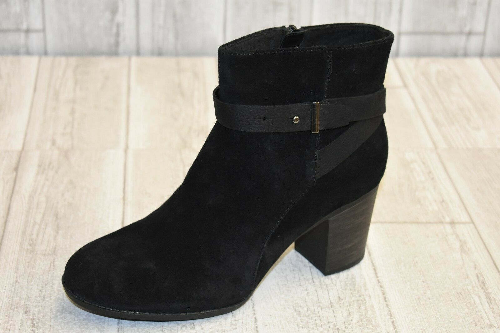 Clarks Enfield Ankle Boots - Women's Size 11 M - Black NEW