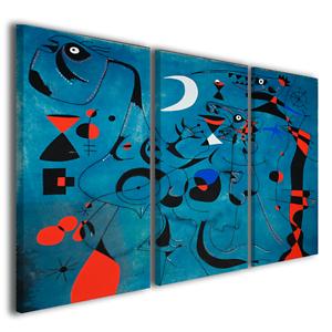 Quadri famosi Joan Mirò vol XVII stampe su tela quadro moderno su ...