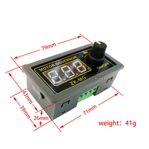 5V~30V 5A 150W High Power PWM DC Motor Speed Controller LED Dimming Module