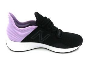competitive price c8cf1 b8522 Image is loading NEW-BALANCE-Fresh-Foam-ROAV-Women-Black-Dark-