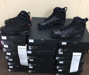 cheap for discount 8bdc2 ccb49 Details about Nike Air Jordan Retro 9 IX Bred 302370-014 Black Red OG 2018  Authentic Szs:4Y~15